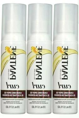 Pack of 3 x Pantene Pro-V Curl Scrunching Spray Hair Gel 5.7