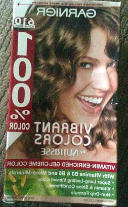 Garnier 100% Color Permanent Color, Light Ash Brown 610