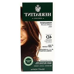 Herbatint Permanent Herbal Haircolour Gel 4D Golden Chestnut