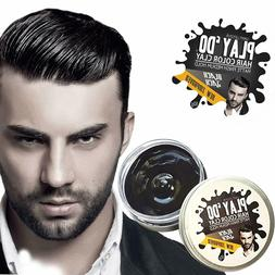 Play 'Do Temporary Hair Color Wax Clay Mens Grooming Pomade