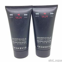 Givenchy PLAY Hair And Body Energizing Shower Gel 1.7 fl oz