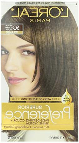 L'Oreal Preference #5G Golden Brown, 1 ct