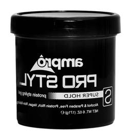 Ampro Pro Styl Super Hold Protein Styling Black Hair Gel 6 o