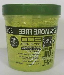 ECO STYLER OLIVE OIL STYLING HAIR GEL MAX HOLD ALCOHOL-FREE