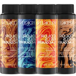 Redken Color Gels Lacquers Permanent Hair Color 2oz - Choose