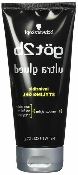 Schwarzkopf got2b Ultra Glued Invincible Styling Gel 6 oz /