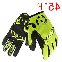 MOREOK Sensitive Touch Screen Gloves Mountain Bike Road Bike