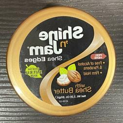 SHINE N JAM SHEA EDGES W/ SHEA BUTTER 2OZ EDGE CONTROL COND