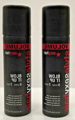 Sexy Hair Short Blow It Up Gel 5.3 oz **2-PACK**