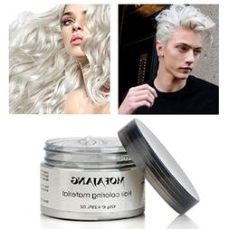 YABINA 7 Colors Silver Wax 120ml Men women Professional Hair