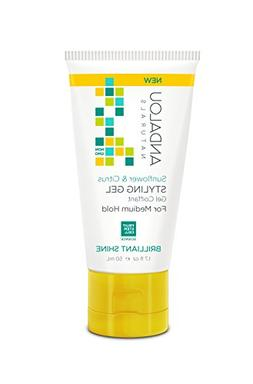 Sunflower & Citrus Styling Gel Medium Hold Travel Size Andal