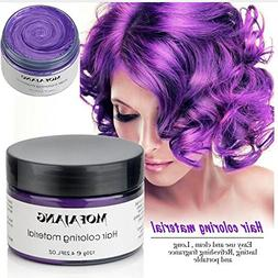 Temporary Purple Hair Wax,YHMWAX Fashion Colorful Hair Wax P