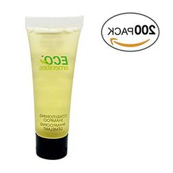 ECO AMENITIES Travel size 1.1oz hotel shampoo and conditione