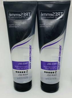 TRESemme MEGA FIRM CONTROL TRES GEL 9 oz Lot of 2 Tubes For