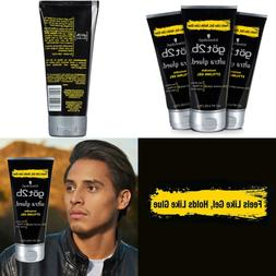 Got2b Ultra Glued Invincible Styling Hair Gel 6 OZ Pack Of 3