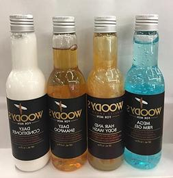 Woodys Daily Shampoo, Conditioner Shampoo, Hair And Body Was